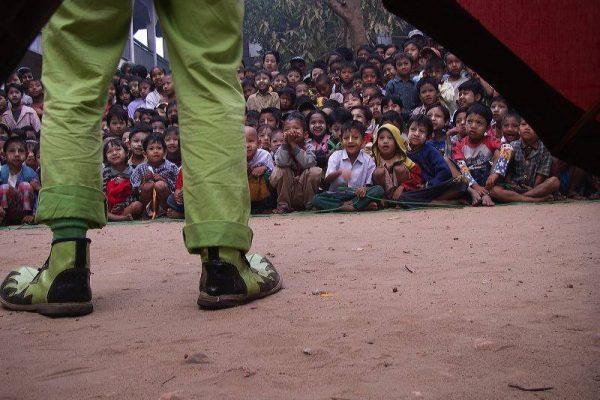 Burma 2009 dave's feet