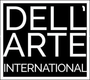 DellArteInternational logo. Clown school