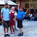Amica, Sara, Mooky, and Rudi perform in Chiapas
