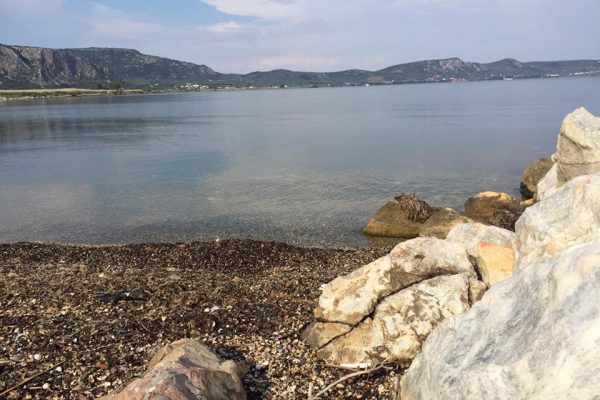 Lesvos shoreline