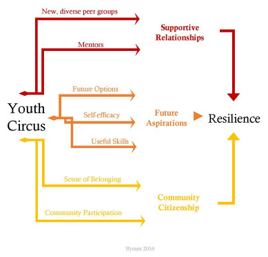 Logic Model of Circus Resilience Theory