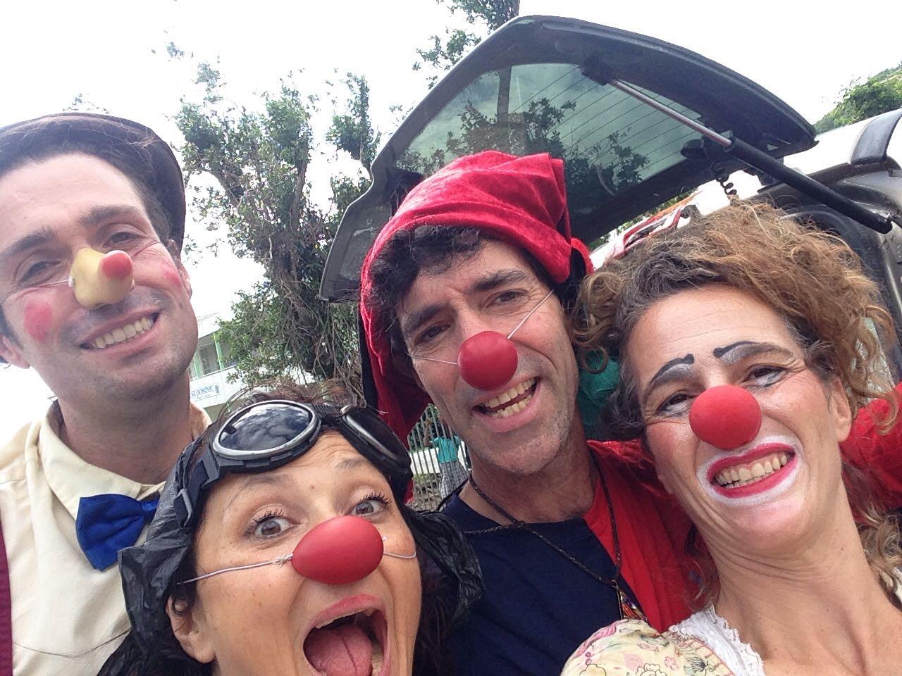 CWB clowns on the St. Maarten tour