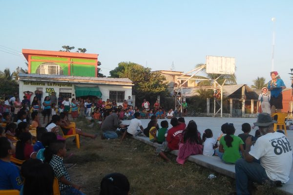 People gather in Chiapas