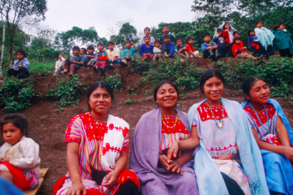 Women in Chiapas, 1996