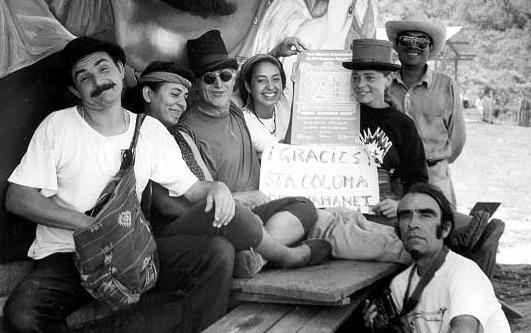 Clowns in Chiapas