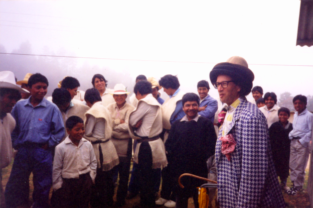 Moshe in Chiapas, circa 1997