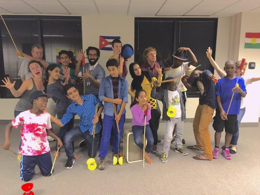 Kids at St. PJ's in San Antonio, TX